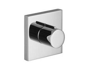 Dornbracht USA Symetrics Single Handle Bathtub & Shower Faucet in Matte Platinum Trim Only D36315980