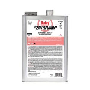 Oatey 1 gal Plastic Black Pipe Cement O30920
