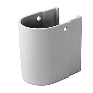 Duravit Happy D Siphon Cover in White D0863850000