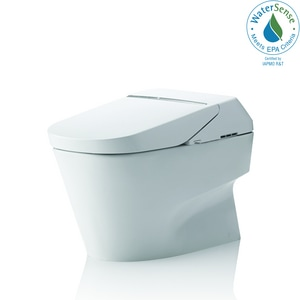 Sensational Toto Neorest 1 Gpf Elongated One Piece Toilet In Cotton Caraccident5 Cool Chair Designs And Ideas Caraccident5Info
