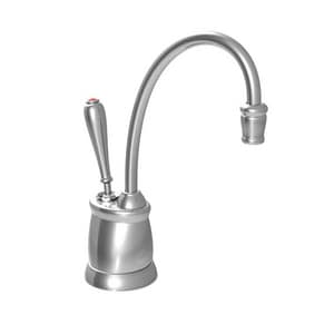 InSinkErator® Indulge™ Tuscan 0.7 gpm 1 Hole Deck Mount Hot Water Dispenser with Single Lever Handle in Polished Chrome IFGN2215