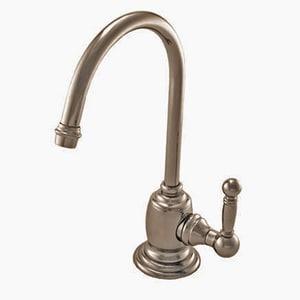 Newport Brass Nadya 1 gpm 1 Hole Deck Mount Cold Water Dispenser with Single Lever Handle in Stainless Steel - PVD N107C/20