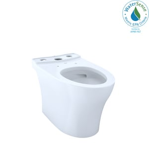 TOTO Aquia® 1.28 gpf Elongated Floor Mount Toilet Bowl in Cotton TCT446CUFG01