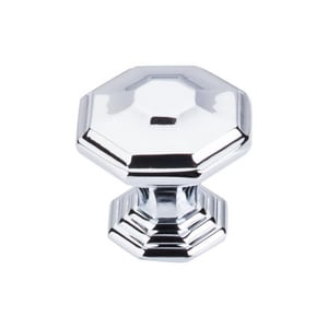 Top Knobs Chareau 1-1/2 in. Cabinet Knob in Polished Chrome TTK348