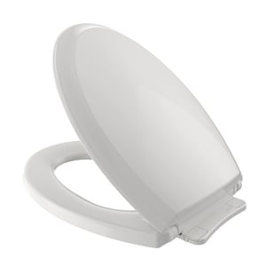 TOTO Guinevere® Elongated Closed Front Toilet Seat With Cover in Colonial White TSS22411