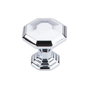 Top Knobs Chalet 1-1/4 in. Knob in Polished Chrome TTK340