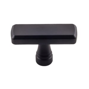 Top Knobs Devon Cabinet Knob in Black TTK851BLK