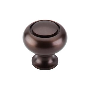 Top Knobs Normandy 1-1/4 in. Ring Knob in Oil Rubbed Bronze TM774
