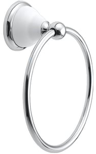 Gatco Franciscan Towel Ring Polished Chrome G5284