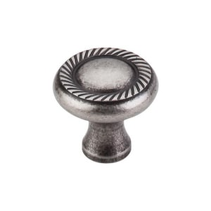 Top Knobs Somerset 1-1/4 in. Cabinet Knob in Antique Pewter TM329