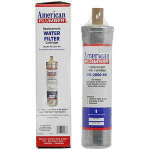 American Plumber 0.5 gpm Replacement Cartridge for DW-2000-U Water Filter AMP15589651
