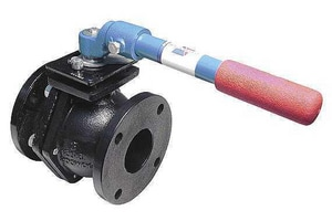4000 Series 1/2 in. Ductile Iron Flanged 300# Ball Valve A4000D