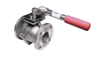 4000 Series 2 in. 316 Stainless Steel Flanged 300# Ball Valve A4001K