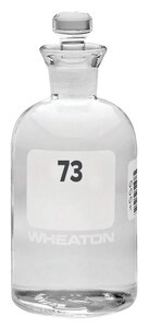 Wheaton Industries 300ml Biological Oxygen Demand Bottle with Glass Stopper (Case of 24) W22749704 at Pollardwater