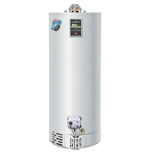 Bradford White Eco-Defender Safety System® 40 gal. Tall 40 MBH Potable Water and Residential Natural Gas Water Heater BURG240T6N394