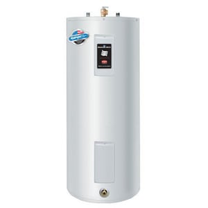 Bradford White 50 gal. Short and Upright 4500W 2-Element Residential Electric Water Heater BRE350S61NCWW
