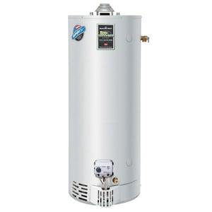 Bradford White 48 gal Tall 55 MBH Residential Natural Gas Water Heater BURG250H6N