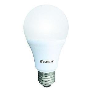 Bulbrite Industries 9.5W A19 Dimmable LED Light Bulb with Medium Base B774106