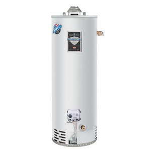 Bradford White Defender Safety System® 50 gal. Tall 40 MBH Potable Water and Residential Natural Gas Water Heater BRG250T6N394500