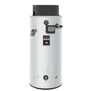 Bradford White Commander Series™ 80 gal Tall 79kW 270 MBH Commercial Natural Gas Water Heater BUCG80H2703N