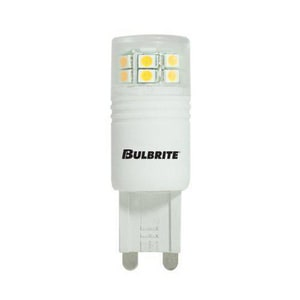 Bulbrite Industries 2.5W T4 LED Light Bulb with G9 Base B770550