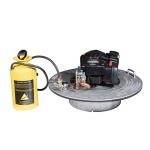 Cherne Air-Loc® Smoke Blower with Fluid Conversion Kit in Yellow C303008 at Pollardwater