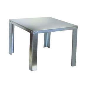 30 x 6 in. Stand Steel 20 ga SHS30X6