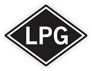 Taf Environmental Safety & Control Vinyl Propane Sticker TGSLP