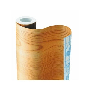 Kittrich Corp 18 in. x 20 ft. Contact Paper in Light Pine K20FC9AT5206