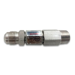 Chudnow 3/8 in. Stainless Steel MPT Double Check Valve CS470DVVP6P6