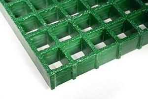Bedford Reinforced Plastics Fiberglass Grate in Green BI15GNG30
