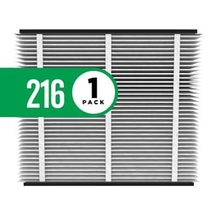 Research Products 4-69/100 x 26-3/4 x 4-1/4 in. Synthetic Fiber MERV 16 Media Air Filter RES216