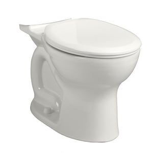 American Standard Cadet® Pro™ Round Right Height Toilet Bowl with EverClean Surface in White A3517B101020