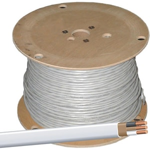 Colonial Wire & Cable Romex® 2-Conductors Romex Wire ... on delta wiring, receptacle wiring, conduit wiring, attic wiring, lutron wiring, types of home wiring, aluminum wiring, cable wiring,