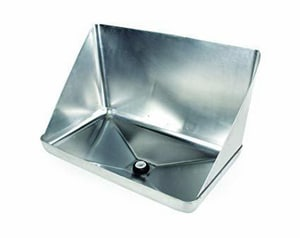 Camco Manufacturing Wall Saver™ Aluminum and Plastic Water Heater Pan in Aluminum C11430