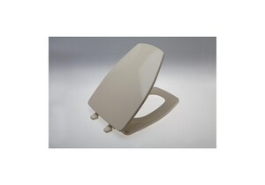 KOHLER Rochelle™ Elongated Closed Front Toilet Seat With Cover in Biscuit K1014072-96