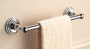 Ginger USA Chelsea 12 in. Towel Bar in Polished Chrome G1101