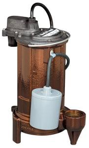 Liberty Pumps 280 Series 1-1/2 in. 115V 8A 1/2 hp Cast Iron Effluent Pump L283 at Pollardwater