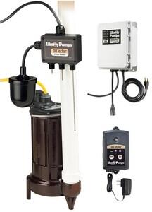 Liberty Pumps ELV Series 1/3 hp Sump Pump System LELV250