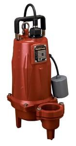 Liberty Pumps LEH150 Series 2 in. 1-1/2 hp High Head Submersible Sewage Pump LLEH152A22 at Pollardwater