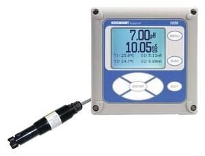Emerson Process Management Rosemount™ Multi-Parameter Dual Channel Transmitter for Rosemount 499ADO Dissolved Oxygen Sensor E1056012538AN at Pollardwater
