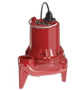 Liberty Pumps LE50 Series 1/2 HP 115V Manual Submersible Sewage Pump 10ft Cord LLE51M