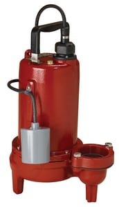 Liberty Pumps LE100 Series 2 in. 1 hp Submersible Sewage Pump LLE104M22 at Pollardwater