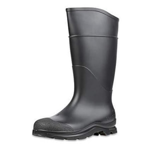 Honeywell 14 in. 9 MENS Fleece, Rubber and PVC Plain Toe Knee Boot in Black H18822BLM090