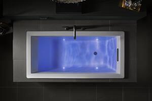 KOHLER Purist® Two Handle Roman Tub Faucet in Matte Black (Trim Only) KT14428-4-BL at Pollardwater