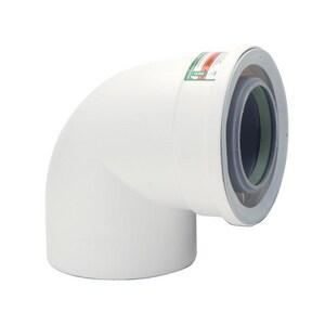 Rinnai 90 Degree Plastic Condensing Vent Pipe Extension R224078PP
