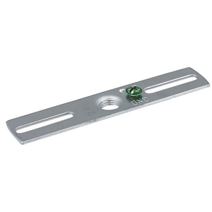 American De Rosa Lamparts 1/4 in. Tapped Bracket Bar with Ground Screw Insert AB643