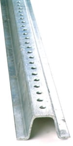 Accuform 8 ft. Galvanized Steel U-channel Sign Post AHSP109 at Pollardwater
