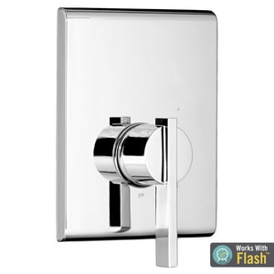 American Standard Times Square® Single Handle Bathtub & Shower Faucet in Polished Chrome (Trim Only) ATU184500002