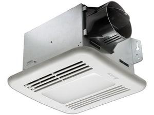 Delta Products BreezGreen Builder Series 80 CFM Bathroom Exhaust Fan in White DGBR80LEDB